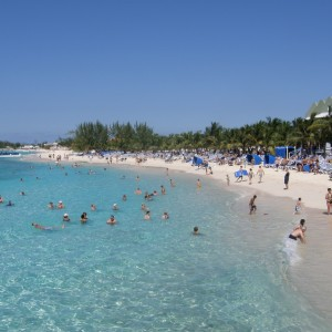 It was very hot here on Grand Turk Island.