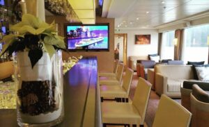The beautiful lounge aboard Viking Longship Jarl during our Romantichellip