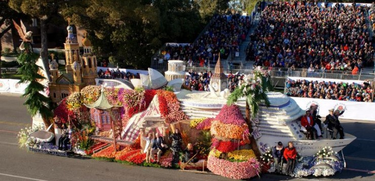 Princess Cruises Rose Parade