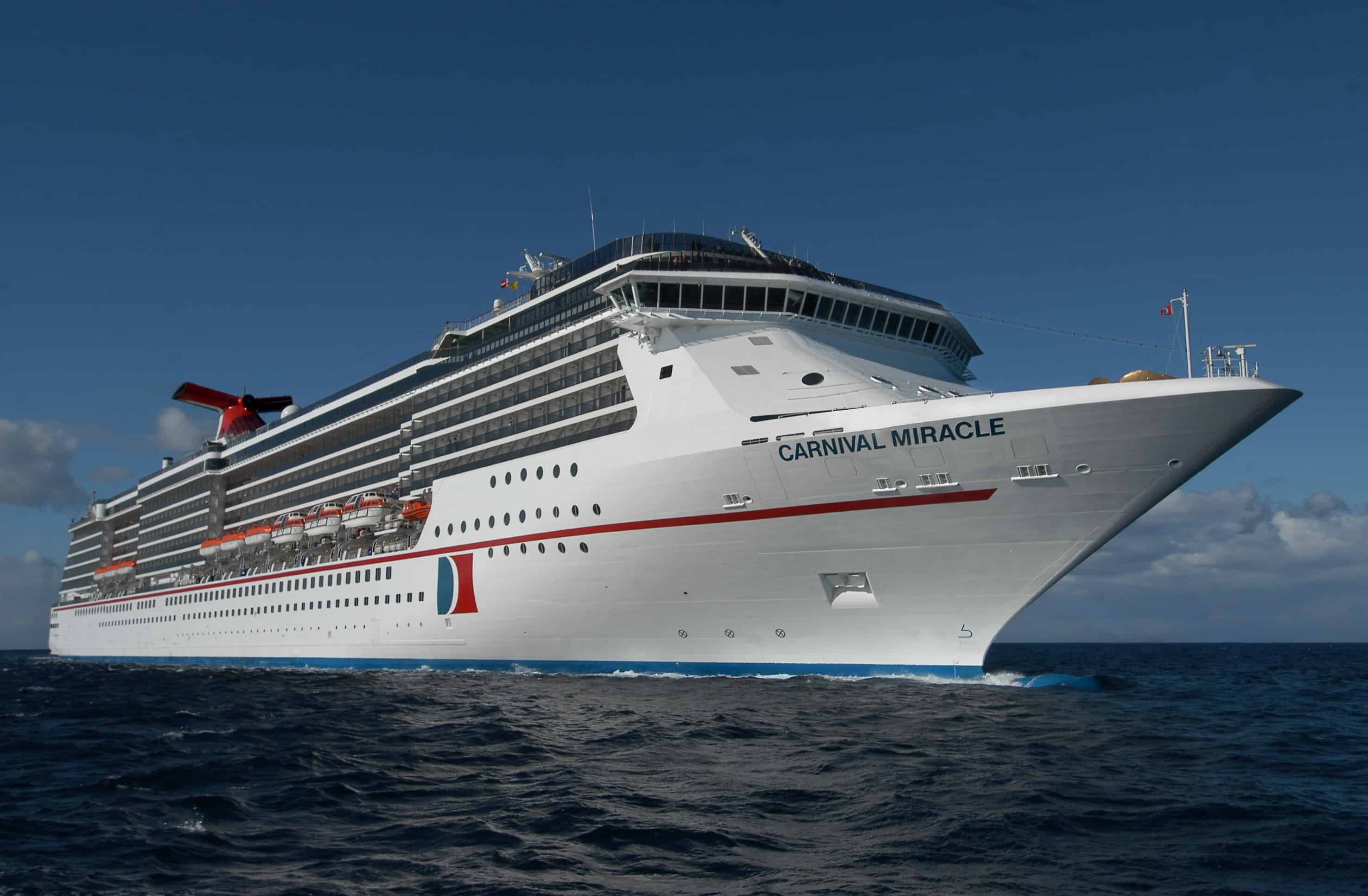 carnival miracle to receive funship 2 0 enhancements in