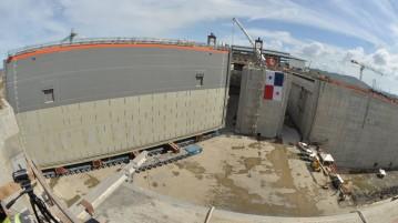 Newly Installed Panamal Canal Gate