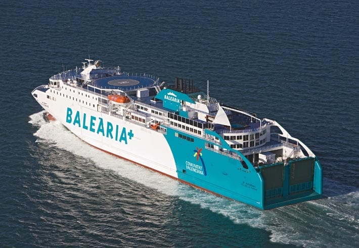 port everglades welcomes balearia 39 s new bahama mama ferry. Black Bedroom Furniture Sets. Home Design Ideas