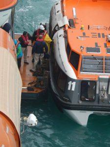 Rescued Passengers board ms Noordam in Alaska - June 2015