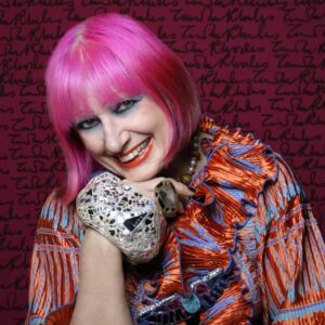 Dame Zandra Rhodes CBE. Photo Credit: Gene Nocon