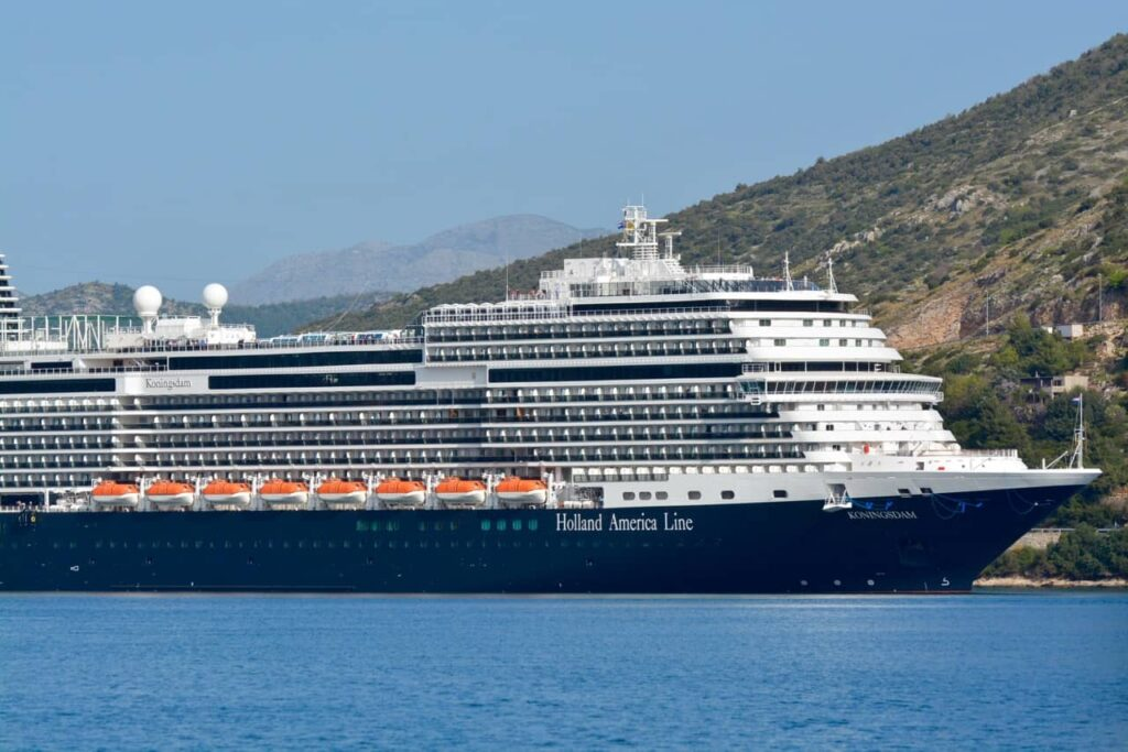 New Holland America Ship