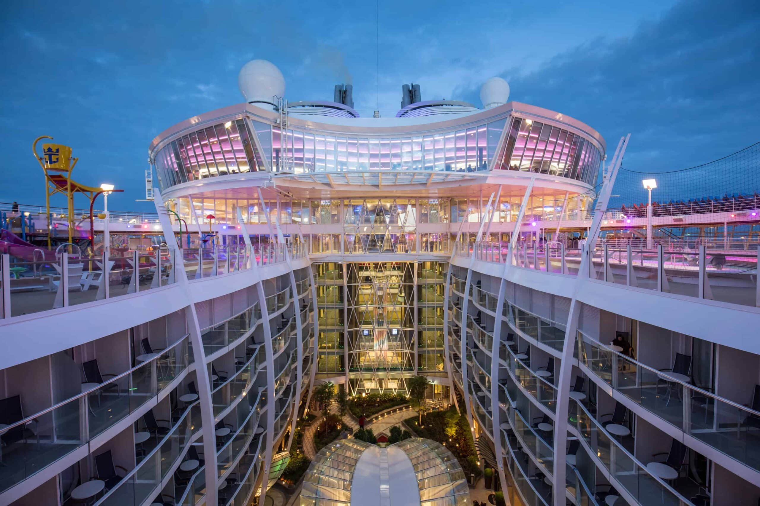 A Look Inside Photo Gallery Of Harmony Of The Seas - Southampton cruise ship parking