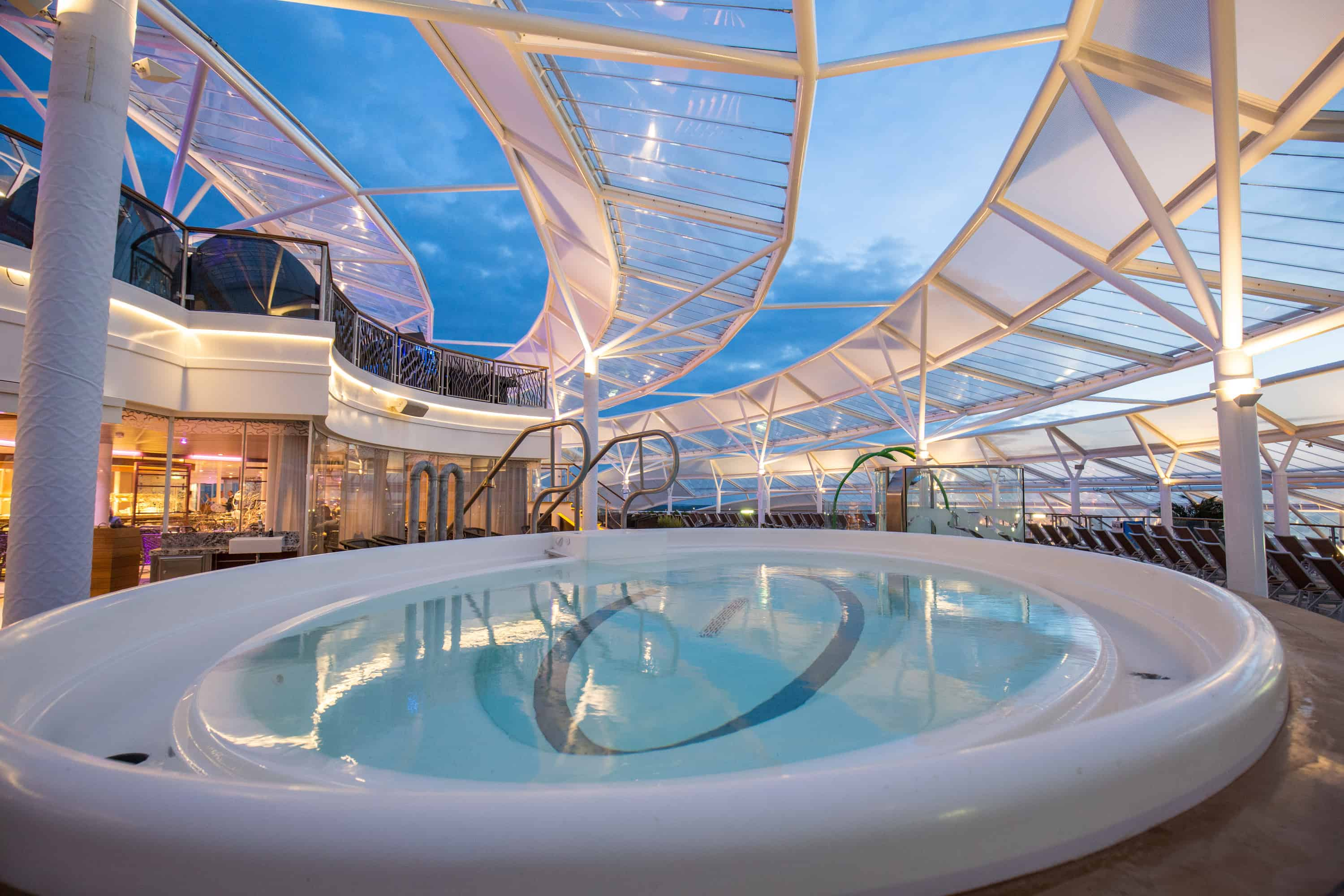 A look inside photo gallery of harmony of the seas for Mississippi wind pool