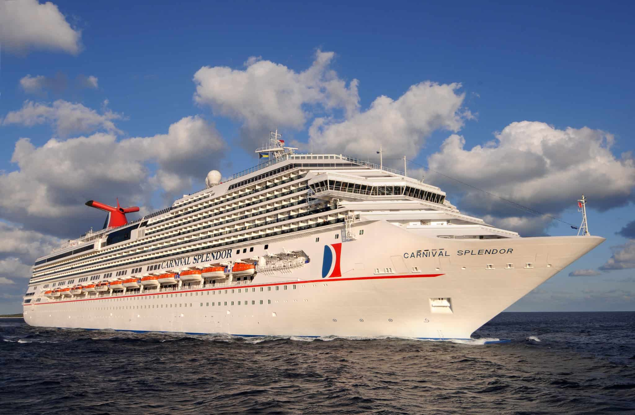Carnival Splendor To Operate 14 Day Alaska Cruise Round Trip From Long Beach