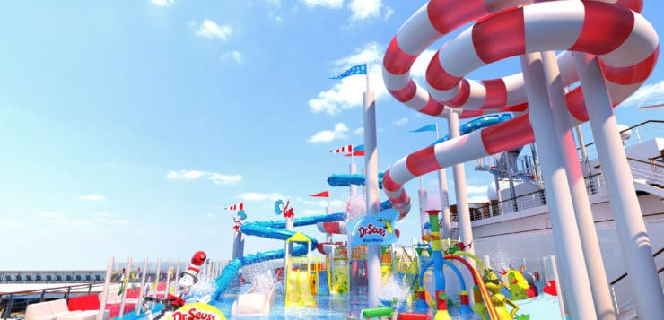 Carnival Horizon To Feature Dr. Seuss WaterWorks