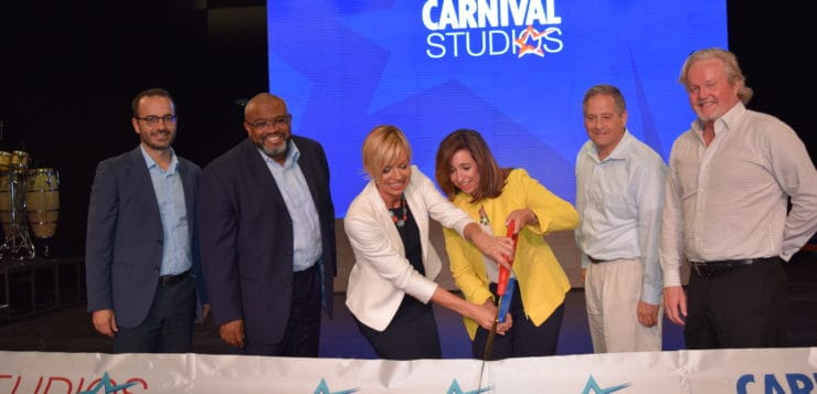 Carnival Cruise Line Unveils 'Carnival Studios'