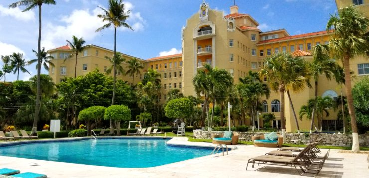 Family Excursion A Day Pass At British Colonial Hilton In Nassau Bahamas