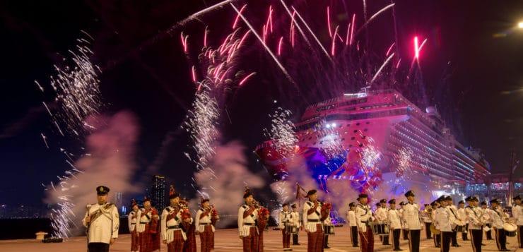 Dream Cruises' Celebrates Arrival Of Second New Ship, World Dream
