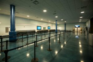 Cruise Terminal 2 at Port Everglades in Fort Lauderdale