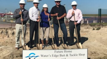 Port Canaveral Breaks Ground for New Bait & Tackle Shop and Cafe