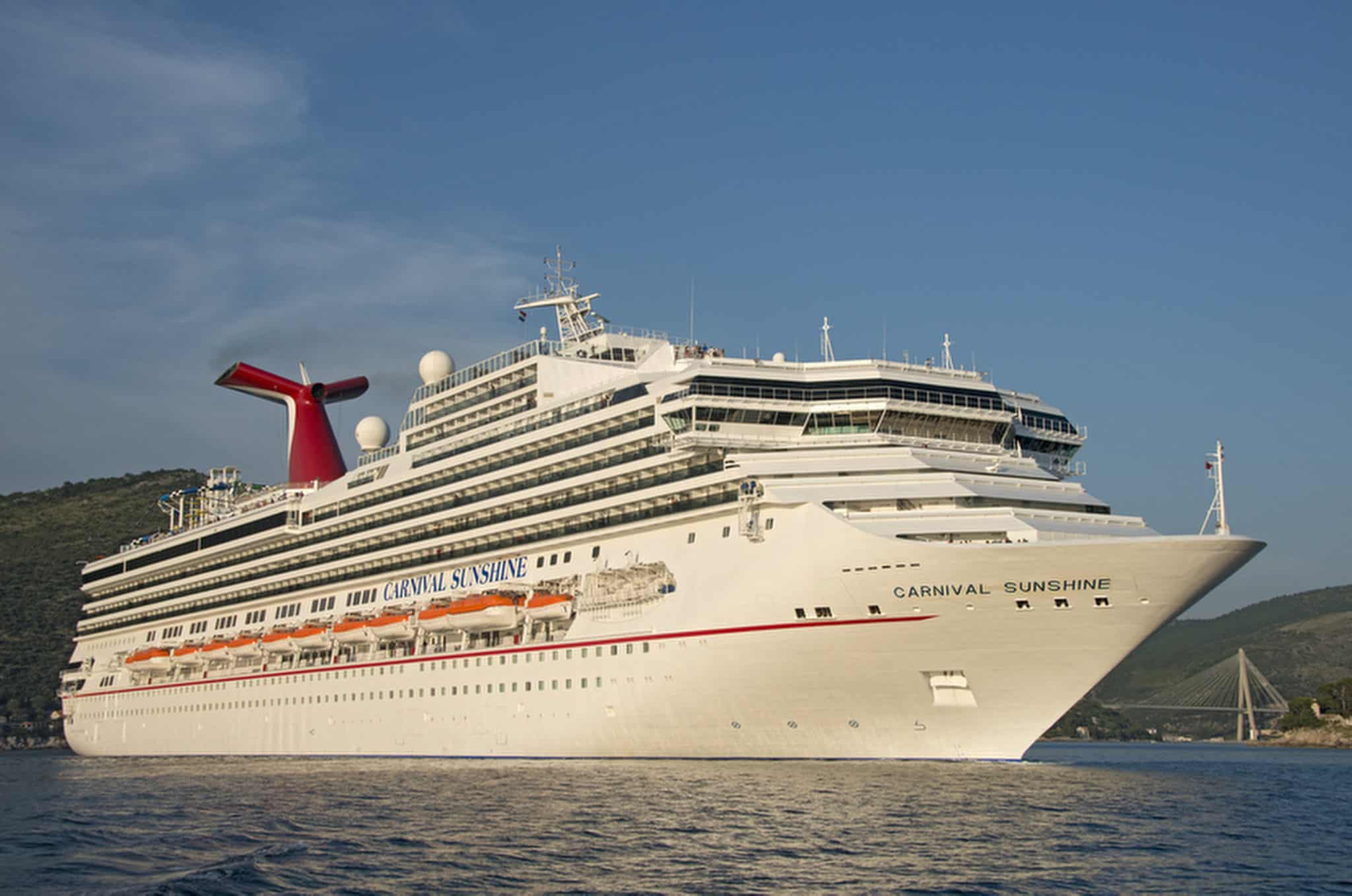 Carnival Sunshine Will Begin Sailing Year Round From