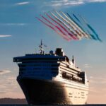 Cunard Queens Meet Red Arrows in the Solent in Southampton | 25