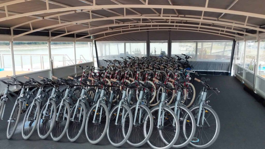 Both cruise lines carry a fleet of bicycles for use during your voyage.
