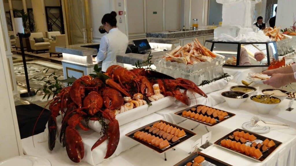 Save your appetite for Sunday Brunch aboard Regent Seven Seas Splendor.