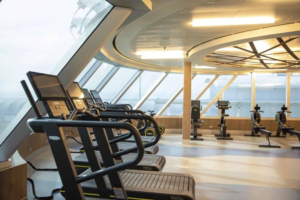 Fitness Center aboard Regent Seven Seas Splendor