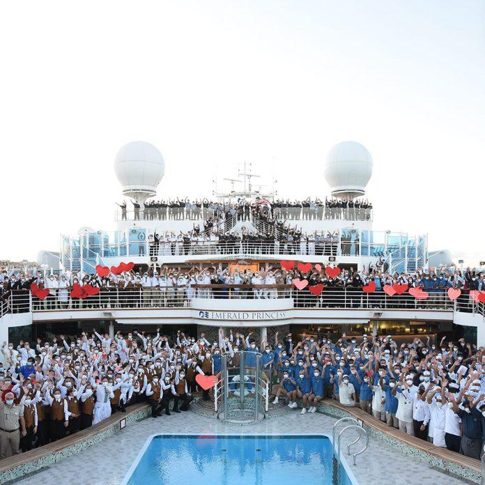 Emerald Princess Debuts as Fifth Princess Ship to Return to Service