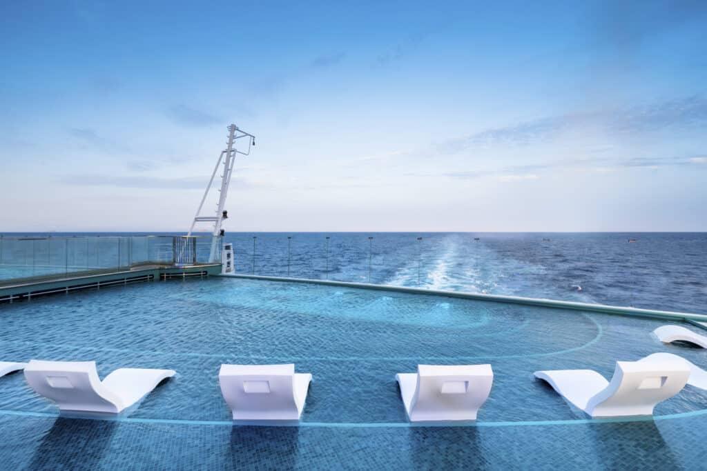 MSC Seashore, NEW Infinity Pool