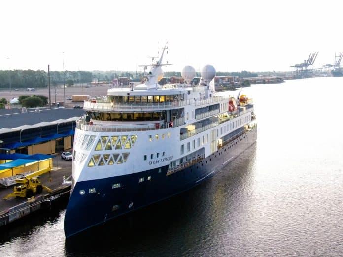 JAXPORT Welcomes Ocean Explorer For Port-Of-Call Visit